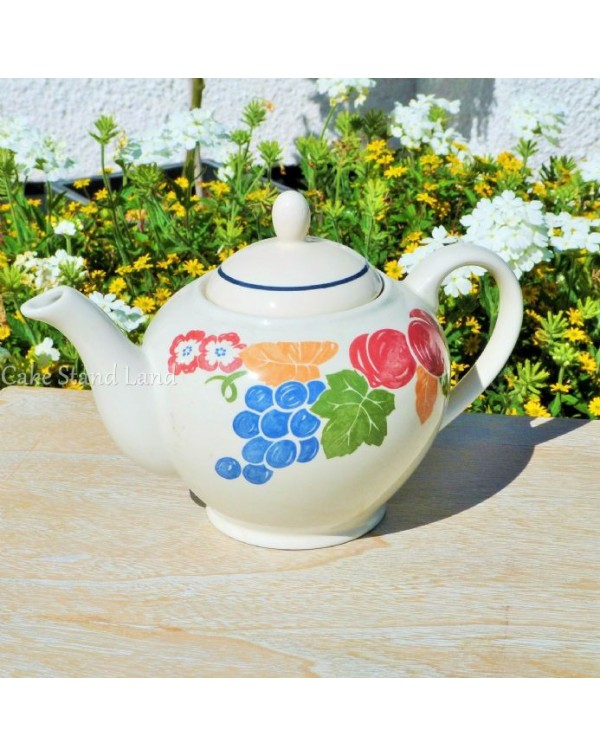 (OUT OF STOCK) SADLER CHIANTI VINTAGE TEAPOT